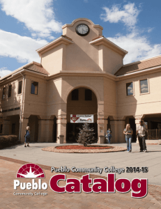 2014-2015 Catalog - Pueblo Community College