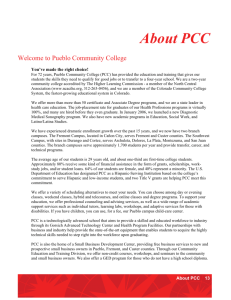 About PCC - Colorado Department of Education