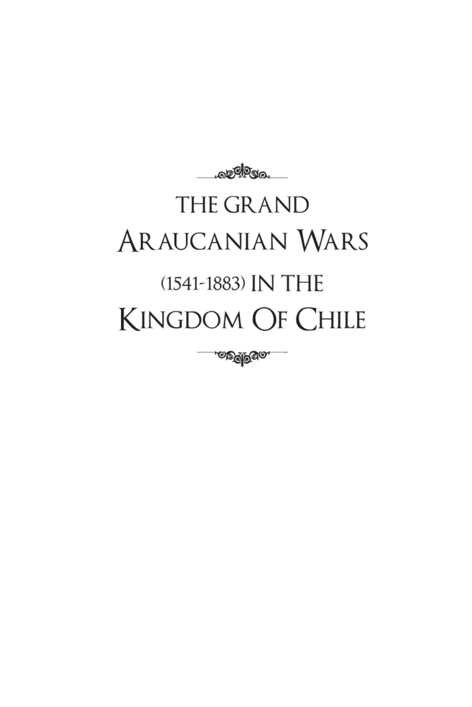 The grand araucanian wars fandeluxe Image collections