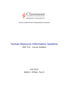 determing hris needs hrm 520 Assignment #2 – determining hris needs tammy cochran hrm 520 dr  deleon november 6, 2012 abstract human resource information.
