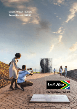 South African Tourism Annual Report 2012/3