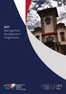 Management Development Programme