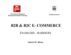 B2B E- COMMERCE