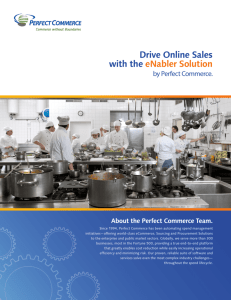 Drive Online Sales with the eNabler Solution