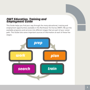 prep plan work train search - Education, Culture and Employment