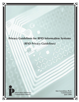 Privacy Guidelines for RFID Information Systems (RFID Privacy