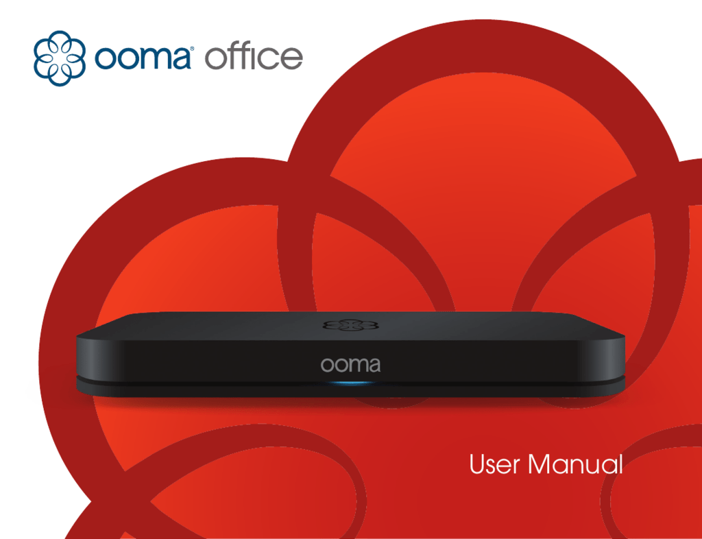 User Manual Ooma Support