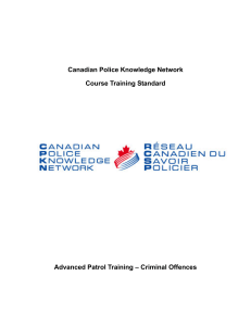 Criminal Offences - Canadian Police Knowledge Network