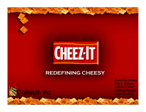 Cheez It Ad Plan Presentation