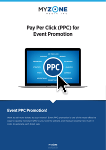 Pay Per Click (PPC) for Event Promotion