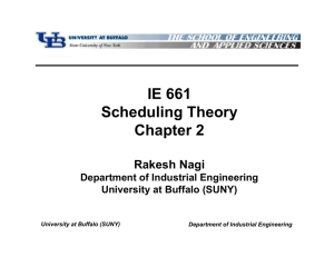 IE 661 Scheduling Theory Chapter 2