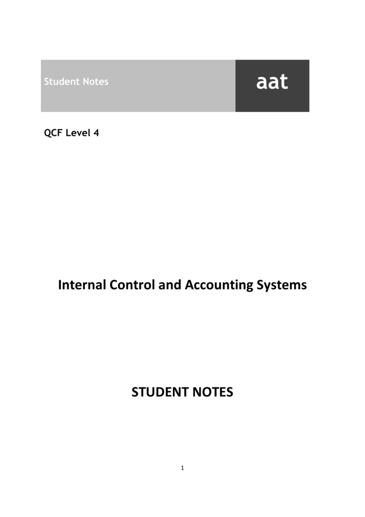 aat level 4 icas case study