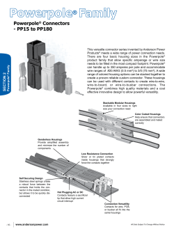Powerpole® Connectors