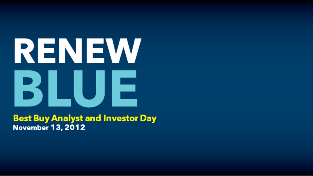 0f8a1c2c6ff RENEW BLUE - Best Buy Corporate News and Information