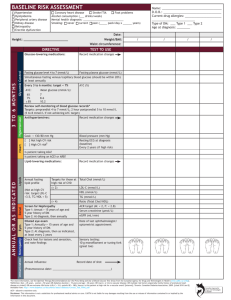 Clinical Flow Sheet - Canadian Agency for Drugs and Technologies