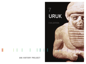 URUK 7 - Big History Project