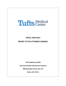 fiscal year 2013 report to the attorney general