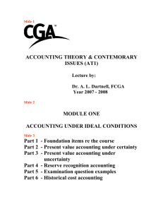 Lecture Handout 1 - Certified General Accountants Association of