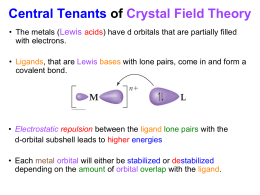 crystal field splitting in octahedral complexes pdf