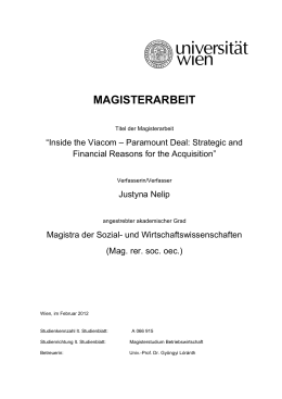 magisterarbeit - E