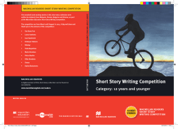 Short Story Writing Competition
