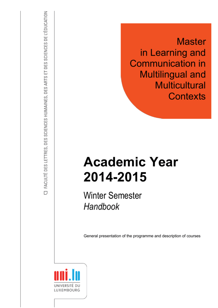 Academic year 2014 2015 university of luxembourg fandeluxe Gallery