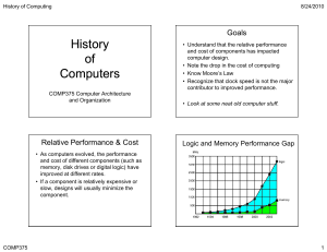 History fo Computers