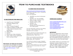 How to purchase textbooks