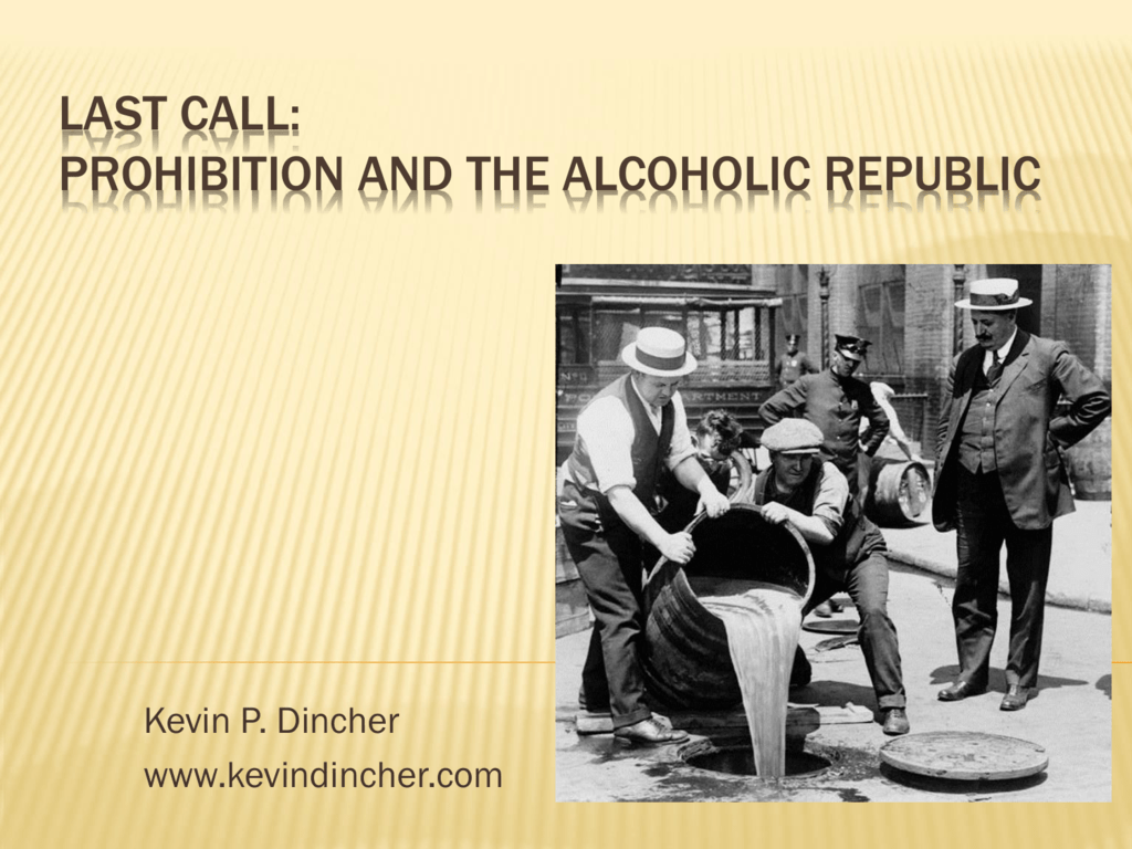 the alcoholic republic