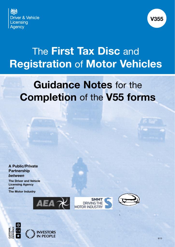 How to complete dvla form v55/5 iva info wscc community forum.