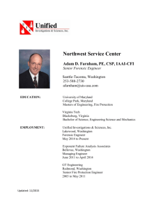 Northwest Service Center - Unified Investigations & Sciences