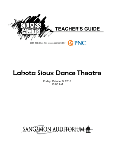 Lakota Sioux Dance Theatre
