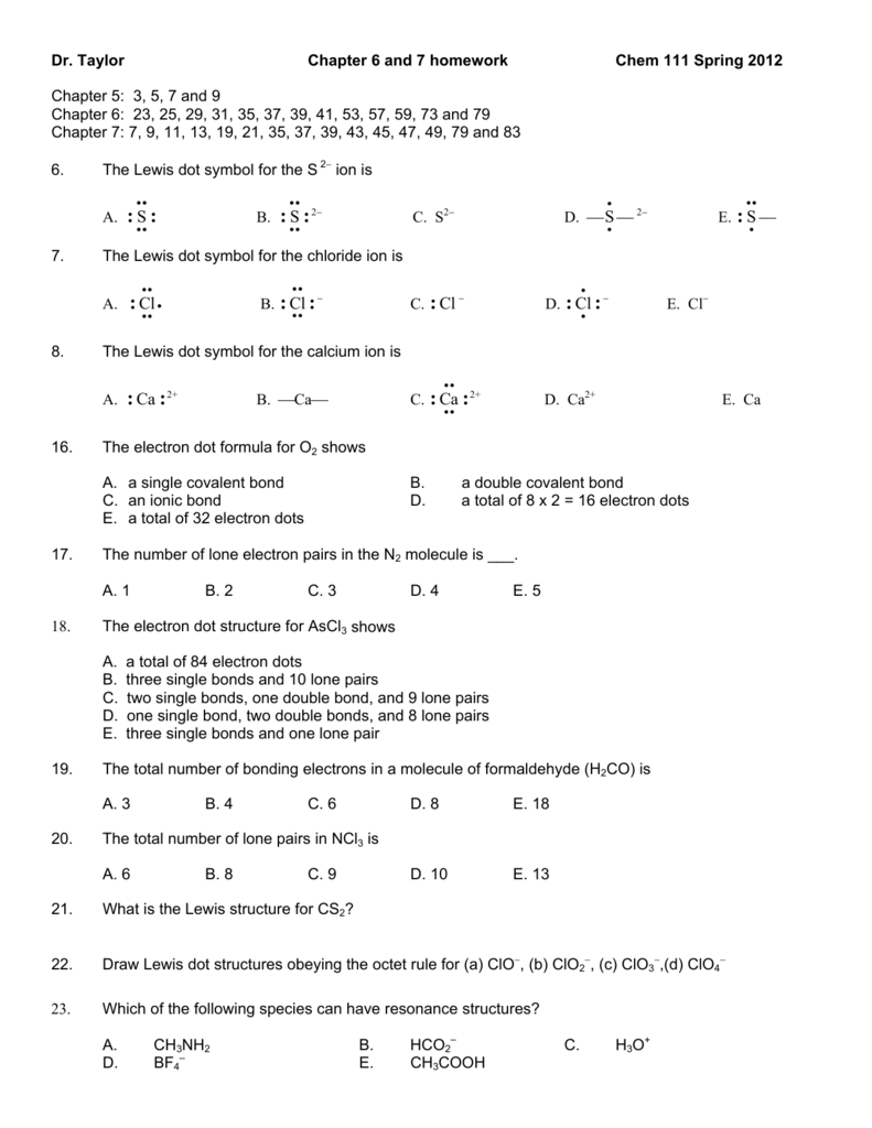 Chapter 6 and 7 homework pooptronica