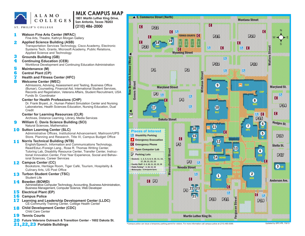 st philips campus map St Philips College Campus Map Map Of The World st philips campus map