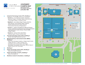 P P P P P P P P SOUTHWEST CAMPUS MAP 2 3
