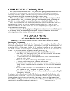 the deadly picnic