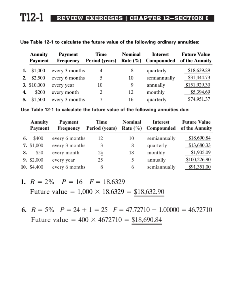 Bus144 Chapter 12 Solutions