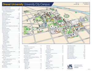 Drexel University University City Campus