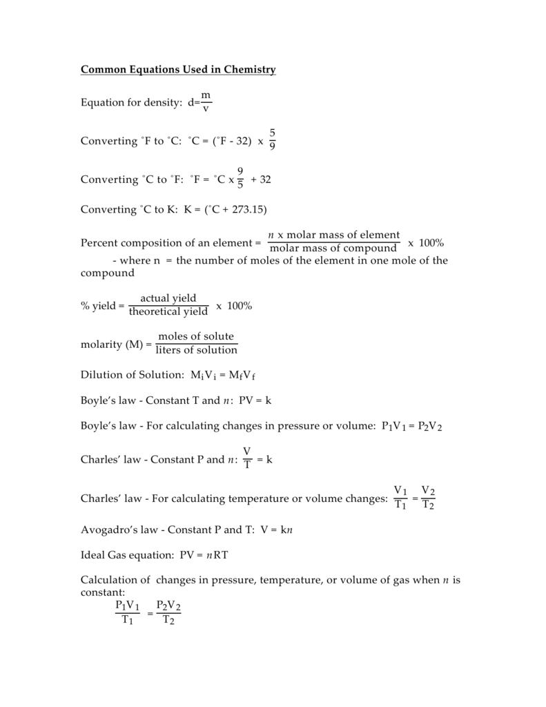 reaction quotient formula