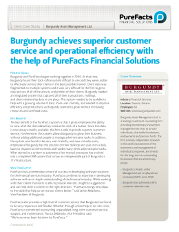 Burgundy ...download pdf - PureFacts Financial Solutions
