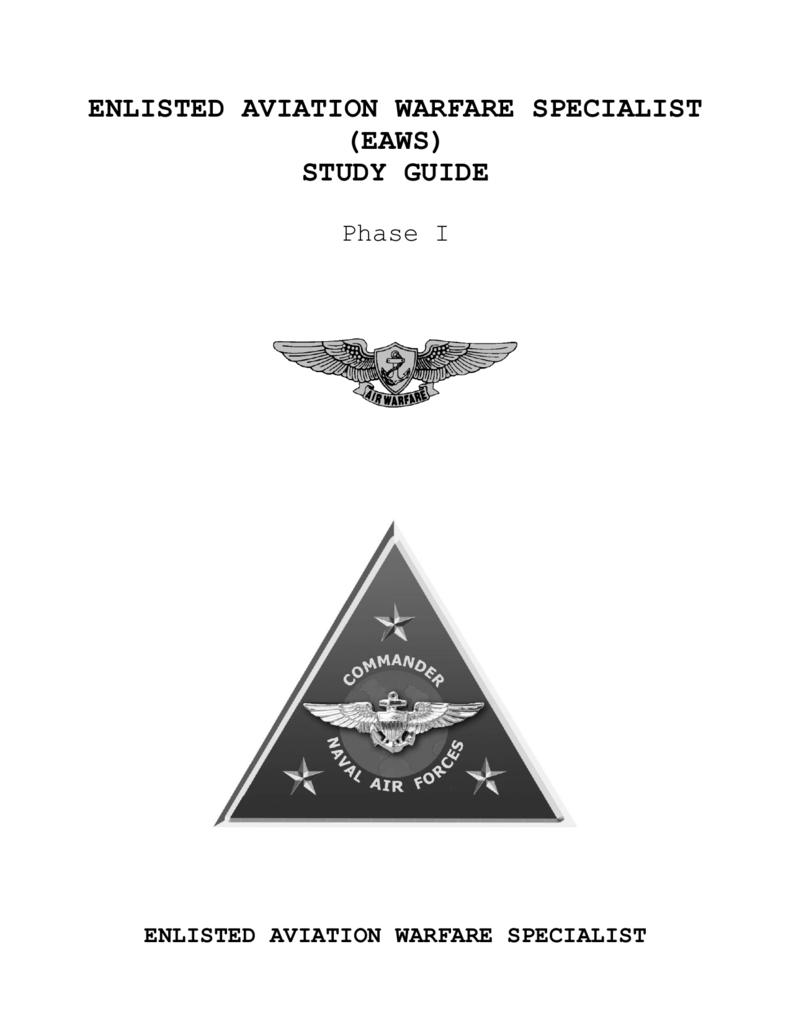 enlisted aviation warfare specialist eaws study guide rh studylib net aviation ordnance study guide 2016 aviation ordnanceman 3rd class study guide