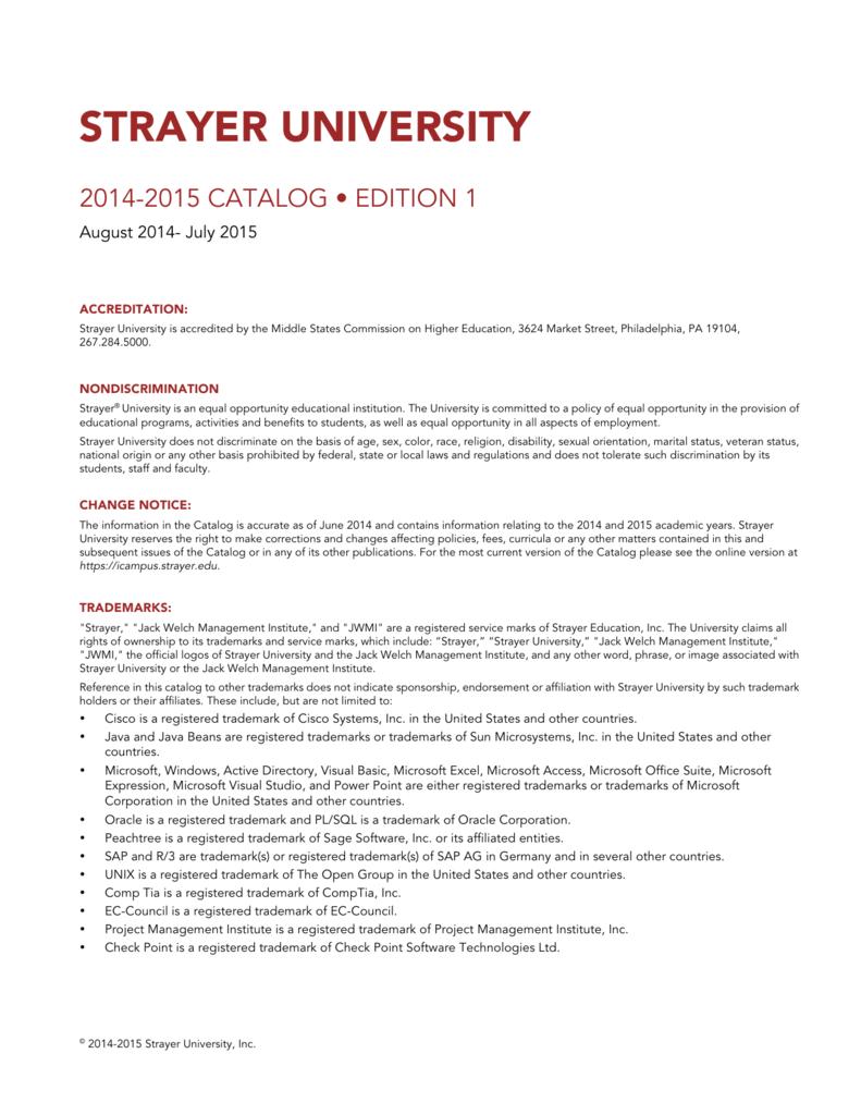Strayer university strayer university fandeluxe Choice Image