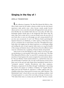 Singing in the Key of I - Expository Writing Program | New York
