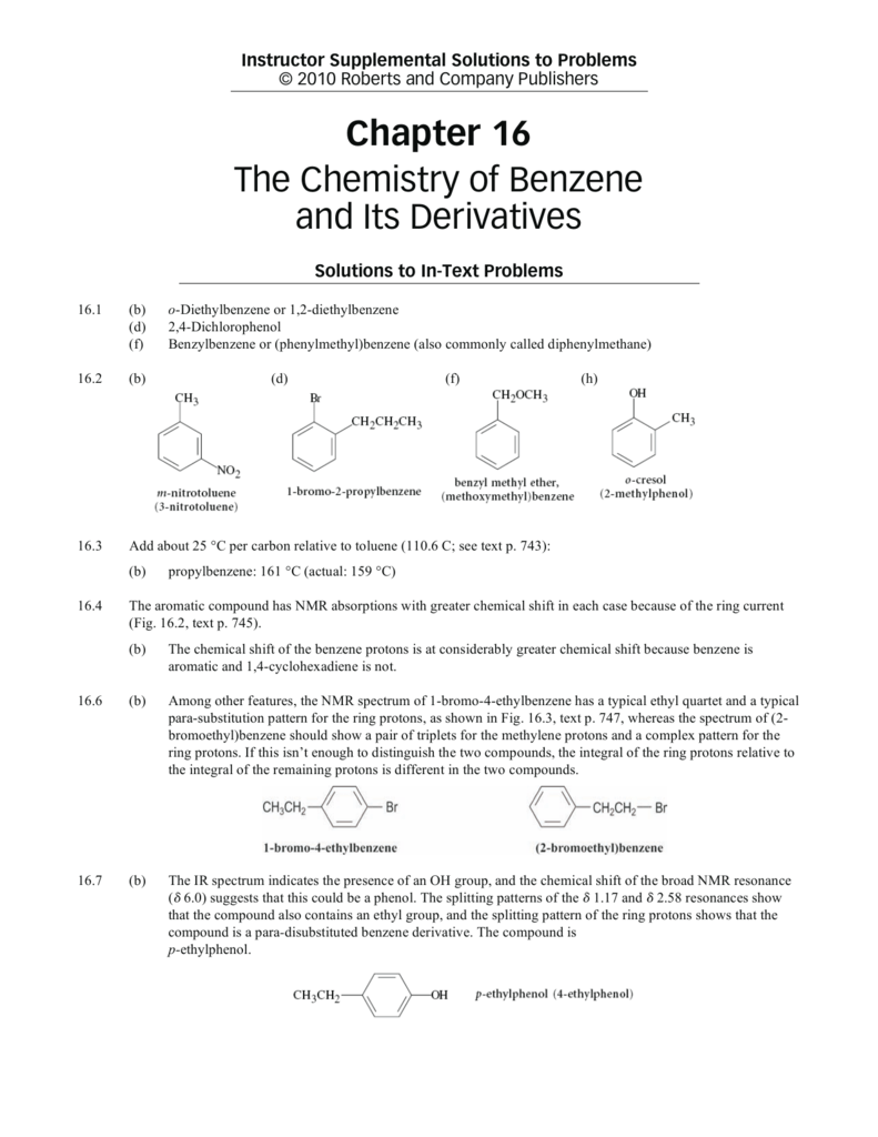 benzene with oh