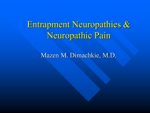 Nerve Entrapments and Neuropathic Pain