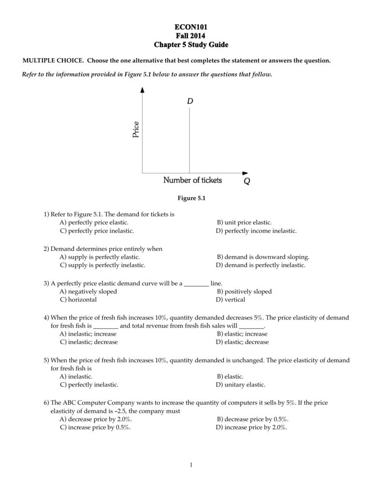 Study Guide 5 F2014