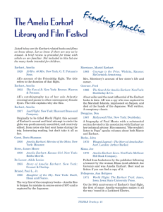 The Amelia Earhart Library and Film Festival