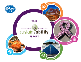 REPORT - Sustainability