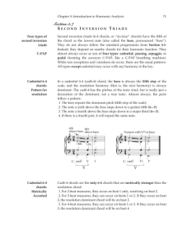 Performing a harmonic analysis