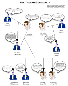 Antigone Family Tree Diagram